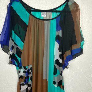 Sunflair Summer Beach Dress Tunic Sz 16